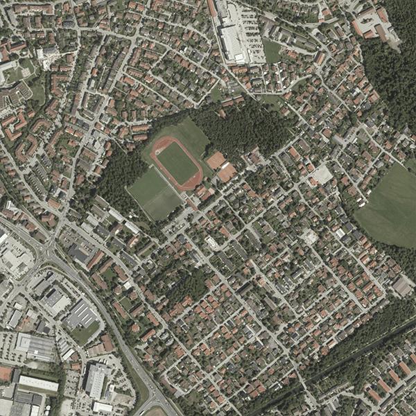 Farchet mit Stadion und Maerchenwald